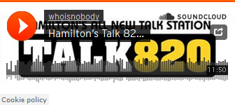 Talk 820 radio with Who Is NOBODY?