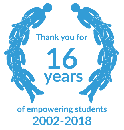 Thank you or 16 years of empowering students